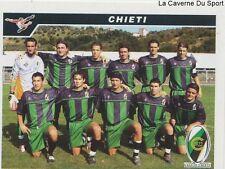 700 SQUADRA CALCIO CHIETI ITALIA SERIE C1 STICKER CALCIATORI 2005 PANINI