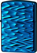 New ZIPPO Lighter Titanium Coating RIP Blue Doubl side Designed 62TIBL-RIP ARMOR