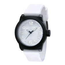 NEW Kenneth Cole Reaction RK1311 Men's White Silicone Watch