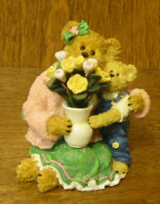 Boyds Bearstones #82550 Momma Bearylove w/Junior...I Love You Mom, Mother's Day