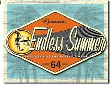 Genuine Endless Summer - In Search Of The Perfect Wave - Metal / Tin Sign  #1138