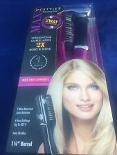 Original Max InStyler 2 Way Rotating Iron Tourmaline Ceramic 1 1/4 Barrel Purple