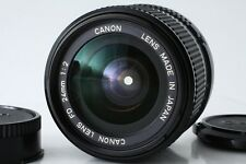 """Excellent+++"" Canon New FD 24mm f/2 NFD Manual Focus Lens From Japan"