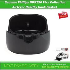 Basket For Phillips HD9230 Viva Collection Airfryer Black Healthy Cook