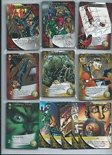 2015 Marvel 3-D legendary COMPLETE 95 card playset