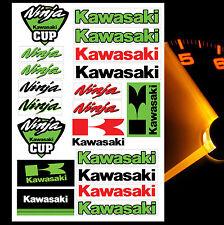 21 KAWASAKI NINJA AUFKLEBER STICKER BLATT RACING MOTORRAD RENNSPORT TUNING LOGO