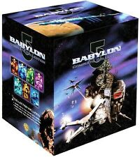 Babylon 5: Complete Series & Movie Collection & Crusade Series [DVD Box Set] NEW