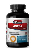 Alaska Omega 3 - Omega-3-6-9 8060 3000mg - Fat Burner Weight Loss Softgels 1B