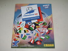 FRANCE 98 WORLD CUP 1998 - OFFICIAL ALBUM PANINI facsimile - 100% Complete