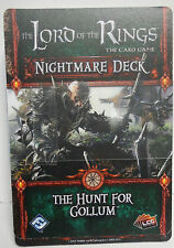 2013 Lord Of The Rings TCG S2 G N The Hunt For Gollum Nightmare Promo Deck
