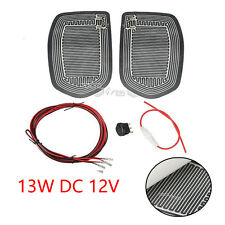 12V Car Side Mirror Glass Heated Pad Defoggers Universal Quick Warm Mat Heater