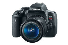 Canon EOS Rebel T6i / EOS D750 24.2 MP Digital SLR Camera - Black (Kit w/...