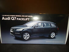 Kyosho Audi Q7 Facelift Night Black 1/18