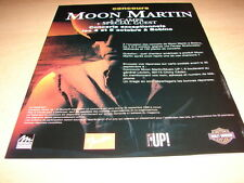 MOON MARTIN - CONCERTS!!!!!!!!!!!!!!FRENCH PRESS ADVERT