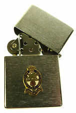 POWRR PRINCESS OF WALES ROYAL REGIMENT WINDPROOF CHROME PLATED LIGHTER