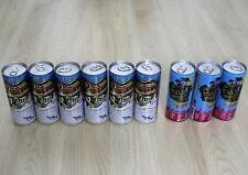 9 Shark cool bite Energy drink Full Moon Party 2011&2013 250ml. cans Thailand