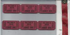 Vintage lot Trail Drive-In theatre tickets Athens Texas  FREE SHIPPING