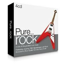 PURE...ROCK 4 CD NEU MIT BOSTON, ALICE COOPER UVM.