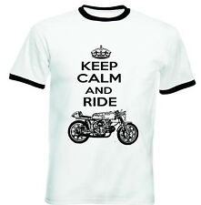 AERMACCHI ALA D`ORO INSPIRED KEEP CALM P- NEW COTTON TSHIRT - ALL SIZES IN STOCK