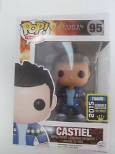 SDCC Comic Con 2015 Funko Pop Supernatural French Mistake Castiel IN HAND