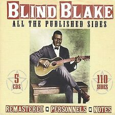 Blind Blake - All The Published Sides [CD New]