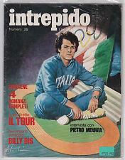 INTREPIDO NUMERO 26 LIRE 120 1972 PIETRO MENNEA BILLY BIS   L-5