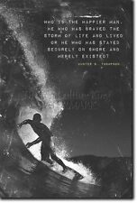 MOTIVATIONAL SURFING POSTER 4 QUOTE SURF MOTIVATION PHOTO PRINT GIFT SURF