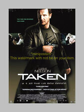 "TAKEN PP SIGNED 12""X8"" POSTER LIAM NEESON"