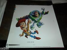 PROOF 1996 DISNEY TOY STORY BURGER KING PRODUCTION SHERIFF WOODY BUZZ LIGHTYEAR