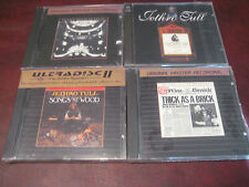 JETHRO TULL BRICK PASSION SONGS FROM RARE MFSL 24K GOLD 3 RARE CD SET + BONUS CD