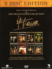 The Jess Franco Gold Collection Box - 8 Discs - 100% Uncut Movies
