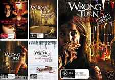 Wrong Turn : Complete Collection 1+2+3+4+5 - NEW DVD