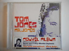TOM JONES : Mr. JONES INTERNATIONAL [ CD ALBUM NEUF ] ~ PORT GRATUIT