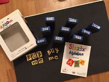Sizzix Die Lot Alphabet RARE Set Font DieCut  Brand NEW IN BOX Alphabars Ransom