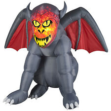 Gruesome Gargoyle Airblown Halloween Inflatable - Airblown Yard Decoration Prop