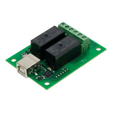 2 Channel USB Controlled 16A Twin Relay Board