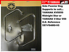 Yamaha Side Pannier Bags Luggage Support Bars Rails XVS950 Midnight Star V-Star
