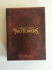 The Lord of the Rings: The Two Towers (DVD, 2003, 4-Disc Set, Platinum Series Sp