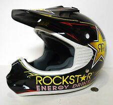 Answer Rockstar Energy Drink Racing Helmet Youth Large YL !!! Motocross