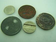 Selection 5 tokens 1851 Crombie etc.Appareils Automatiques French phone etc. 720