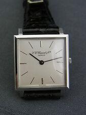 schöne Armbanduhr l.u. Chopard & cie geneve Stahl