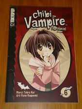 CHIBI VAMPIRE THE NOVEL VOL 6 TOKYOPOP TOHRU KAI HORROR MANGA GRAPHIC NOVEL
