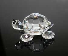 "Crystal Turtle Made in Czech Republic 2 1/8"" x 1 7/8""  1006"