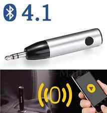 Mini Car Aux Audio Wireless Bluetooth 4.1 Stereo Music Receiver Adapter with Mic