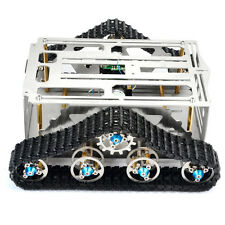 2 Motors Caterpillar Track Aluminum Copper Intelligent Open Robot Toy Car Frame