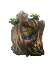 Tree Trunk Falls Water Feature - Tranquil Zen Indoor Cascading Fountain