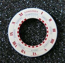Longines 1990s Lindbergh Hour Angle POINTS OF THE COMPASS Wristwatch Dial NOS
