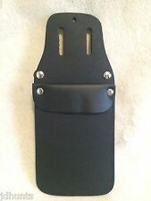 Bateman Traditional Archery POCKET QUIVER with belt loops Black Leather