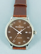 GENUINE MEISTERSINGER  SCRYPTO  AUTOMATIC WATCH - Wonderful brown dial