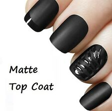 Matte Top Coat Transparent Frosted Nail Varnish SM